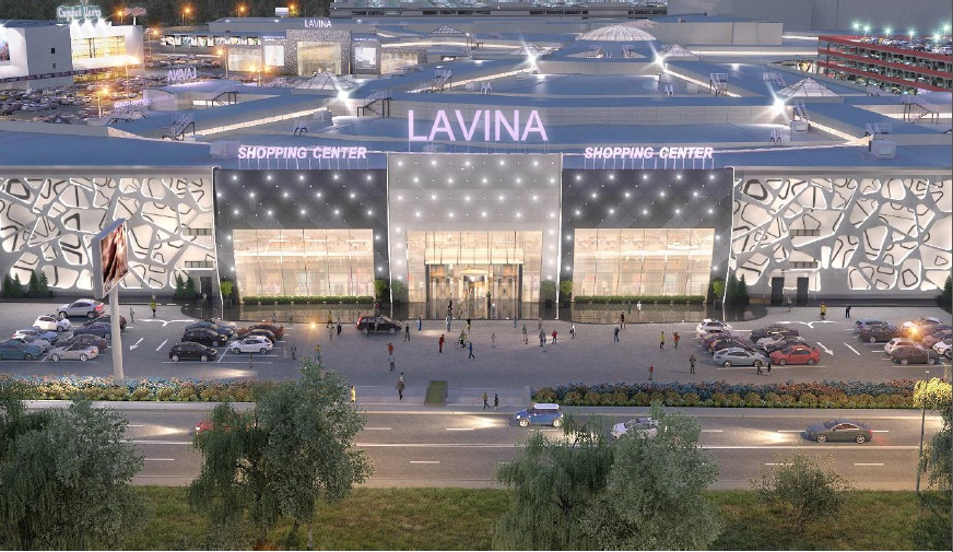 Shopping mall «Lavina», Kiev. 140 000 sq.m.