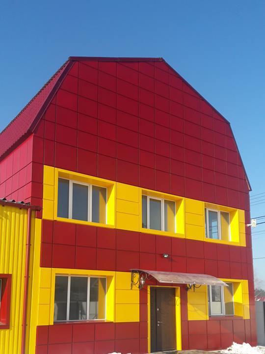 Монтаж навесных металлических вентилируемых фасадов