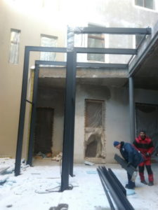 Строительство производственных, складских и офисных зданий;